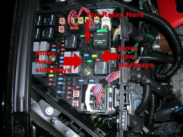 power outlet timer? 2006 cadillac sts fuse box diagram 01 cadillac sts fuse box