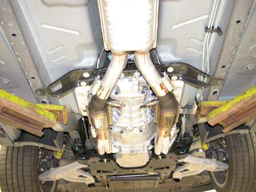 CTS-V FAQ: Image library: Exhaust pictures