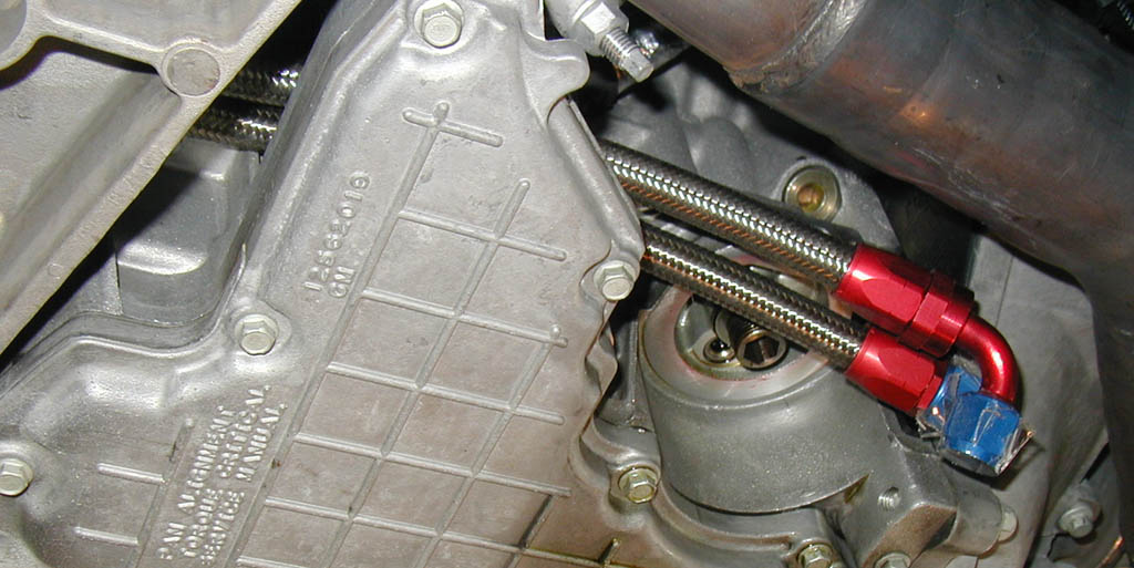 2003 cadillac cts 3.2 oil cooler