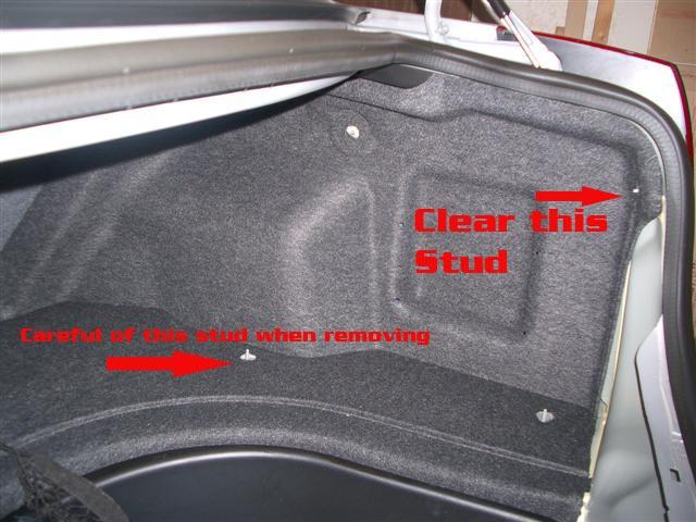Cadillac CTS Onstar Module Location