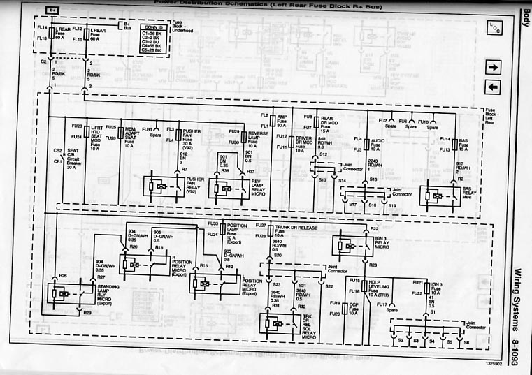 leftrearfuseblk cadillac cts wiring diagram cadillac wiring diagrams for diy car Cadillac XLR at aneh.co