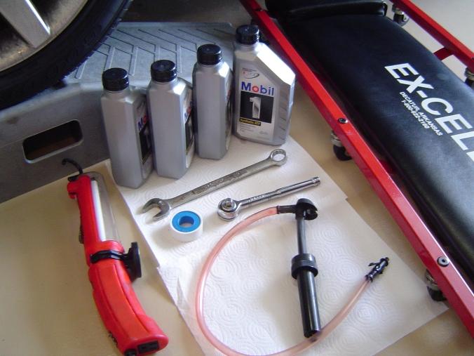 CTS-CTS-V FAQ: Transmission Fluid Change procedure